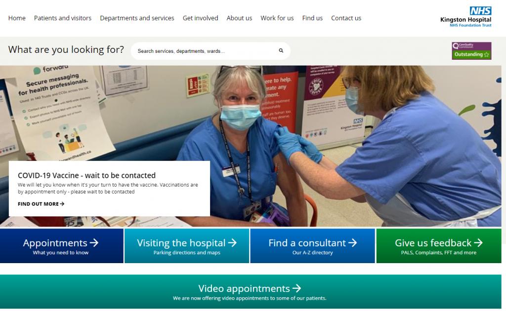 healthcare website